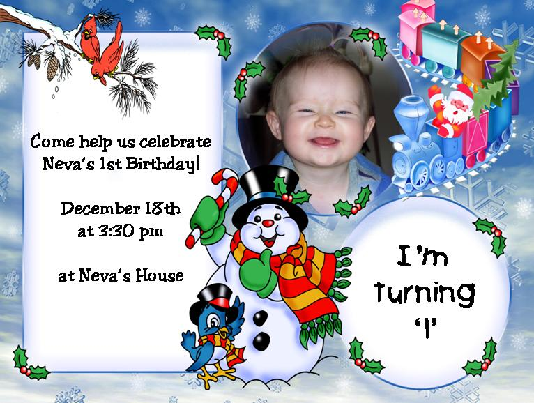 Sample Baby Birthday Invitations2