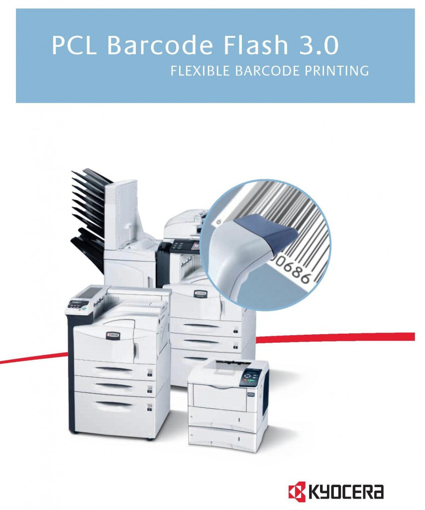 Kyocera PCL Barcode Flash Guide | TEC Copier Systems LLC